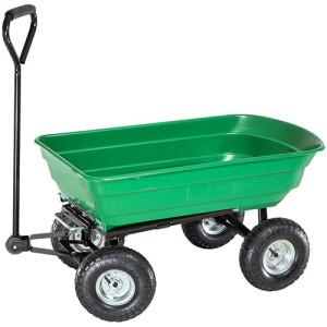 TecTake Gartenkarre Bollerwagen Gerätewagen