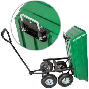 TecTake Gartenkarre Bollerwagen Gerätewagen Gartentrolley
